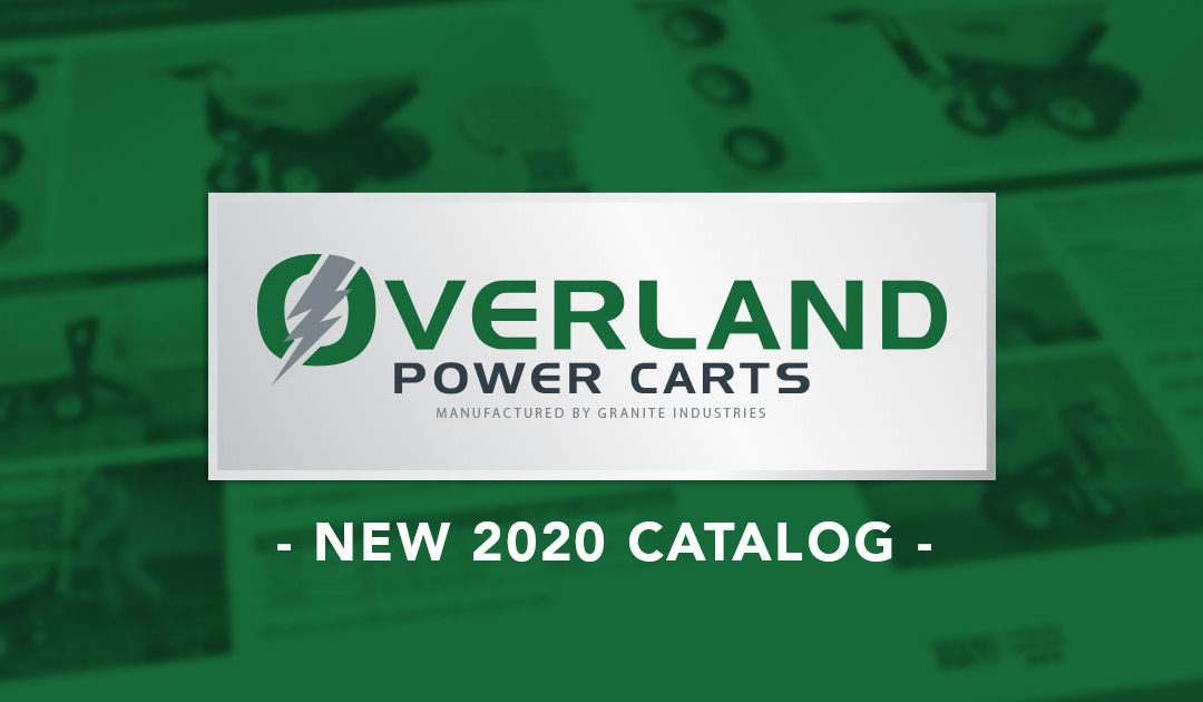 Overland Power Carts Releases New Video, New Catalog and New Logo!